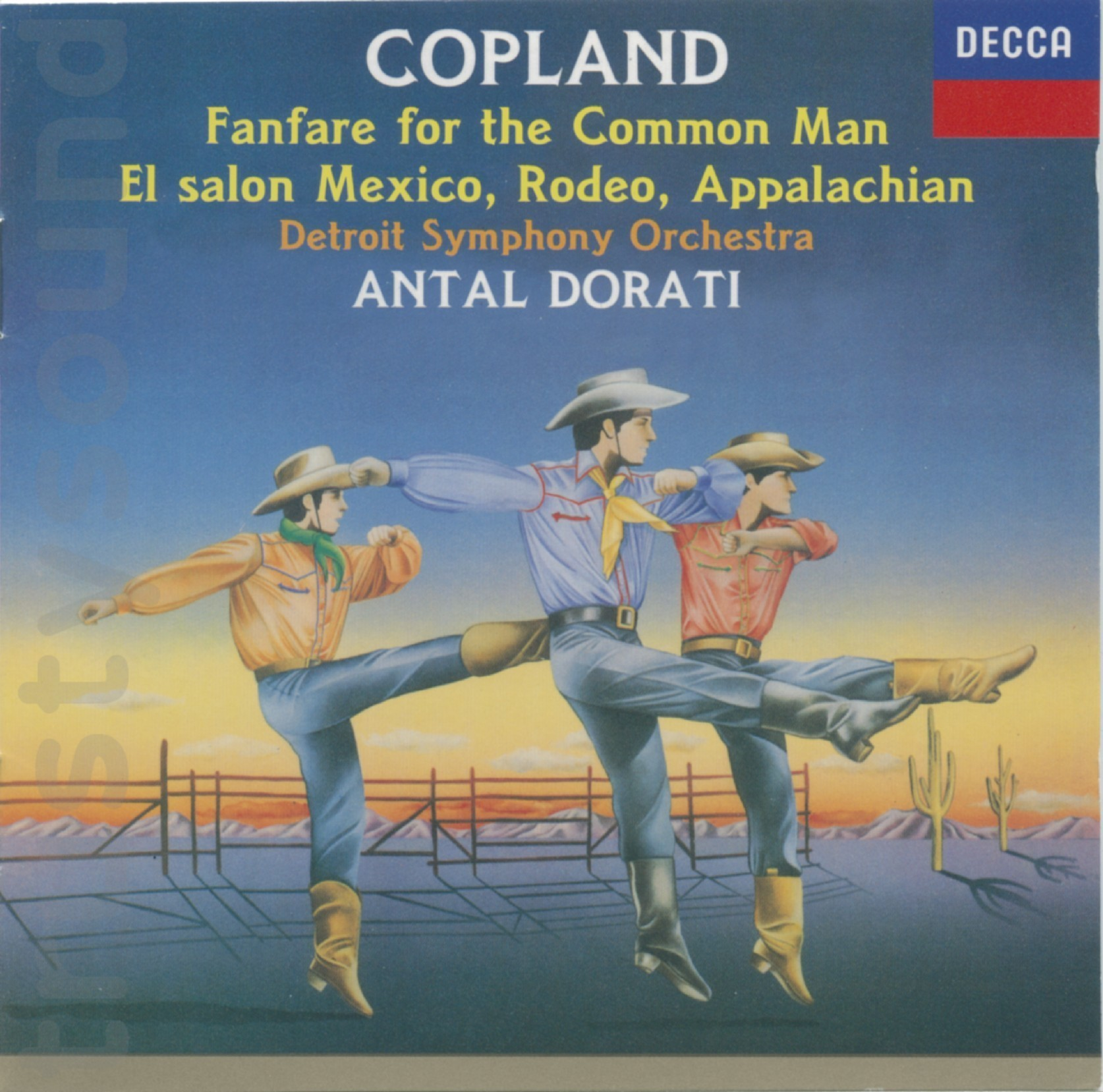 Trustysound products copland orchestral works dorati for Aaron copland el salon mexico